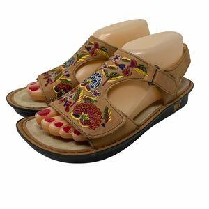Alegria Viki Sandals Size